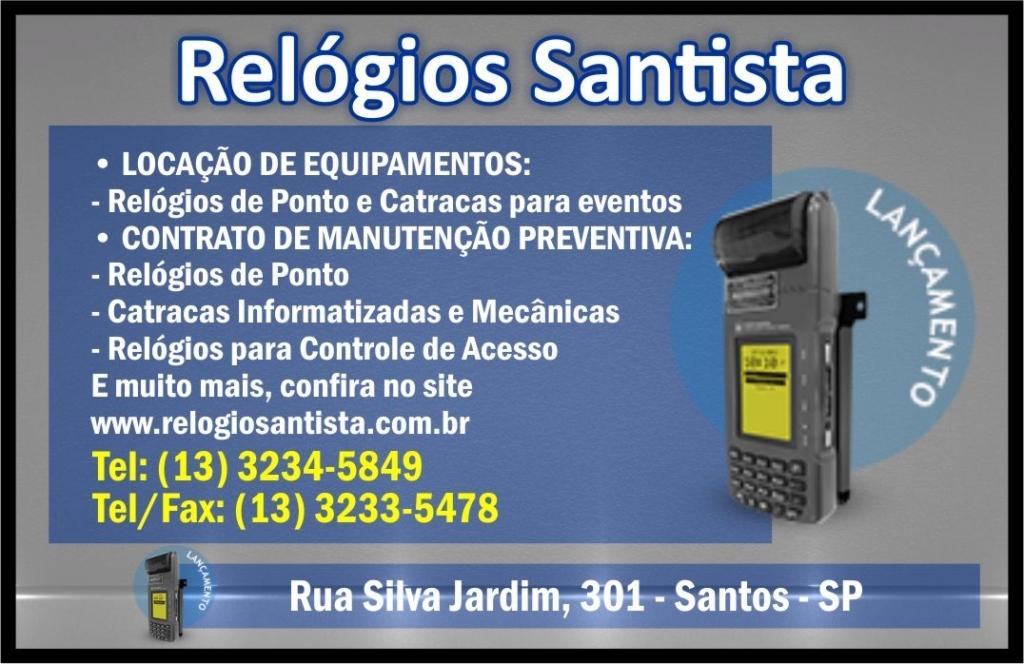 Contabilidade Minerva Clientes Relogio Santista em Santos
